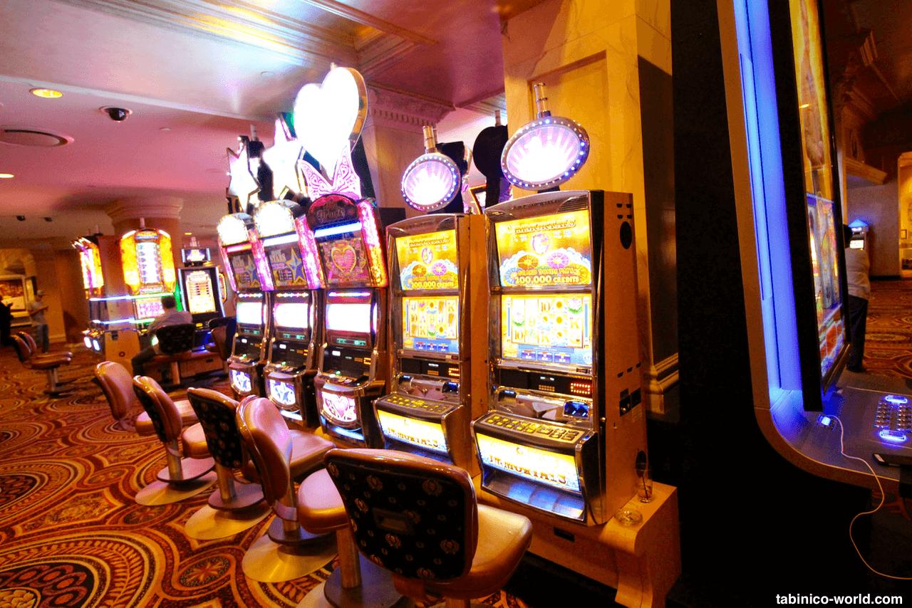 スロット台があるカジノ